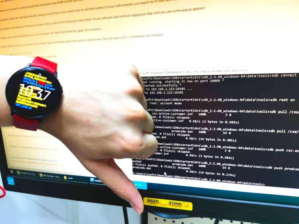 Reparatie smartwatch